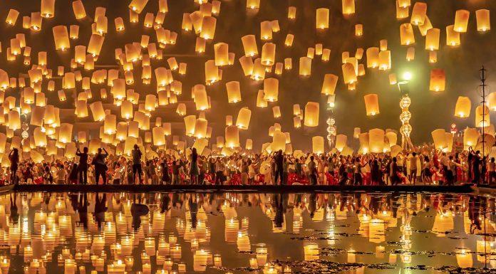 Yee Peng Festival in Chiang Mai