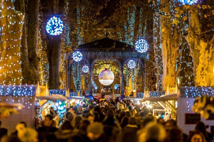 Zagreb kerstmarkt